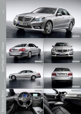AMG Sports Package Available For 2009 EClass  AMG Market  AMG