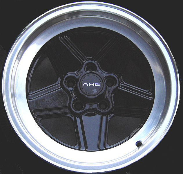 ATS AMG Mercedes-Benz Penta 5-spoke wheel circa 1984