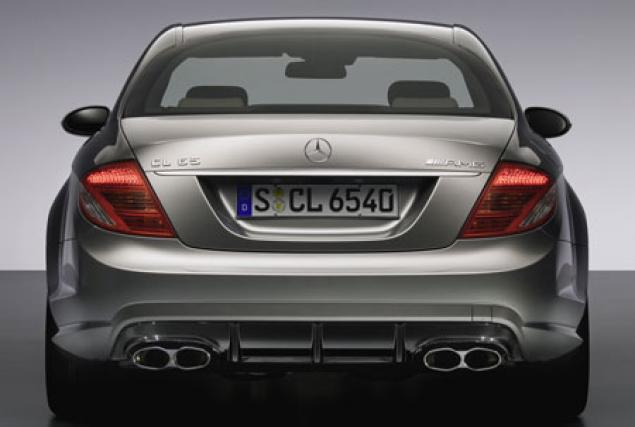 2008 Mercedes-Benz AMG CL65 - Rear View