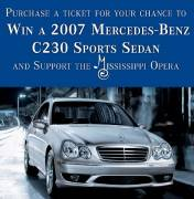 Mercedes-Benz C-230 Sport Sedan Raffle