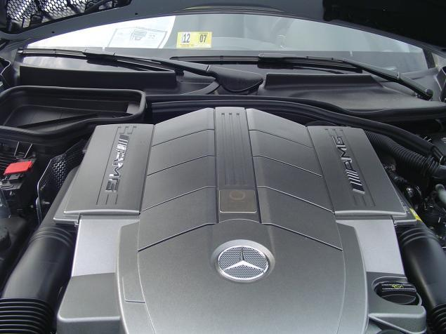 AMG Mercedes-Benz engine; SLK55 AMG Mercedes