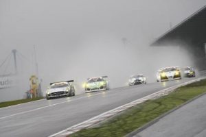 Mercedes SLS GT3 Nurburgring Jager and Haase RAce