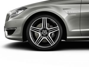 Mercedes CLS 63 AMG wheel photo