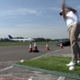 Ok, this is unusual but worth a post:   The golf ball catch was captured on film and released on YouTube, http://www.youtube.com/mercedesbenzuk. The SLS AMG Roadster landed the record of...