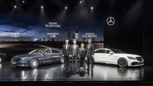 Mercedes-Benz Sales April 2017