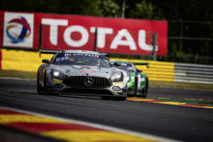 Total 24 Hours of Spa Mercedes-AMG GT3 #5, BLACK FALCON