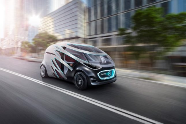 2019 Consumer Electronics Show - Mercedes-Benz Vision URBANETIC